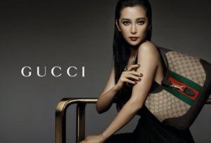 Gucci dame med veske